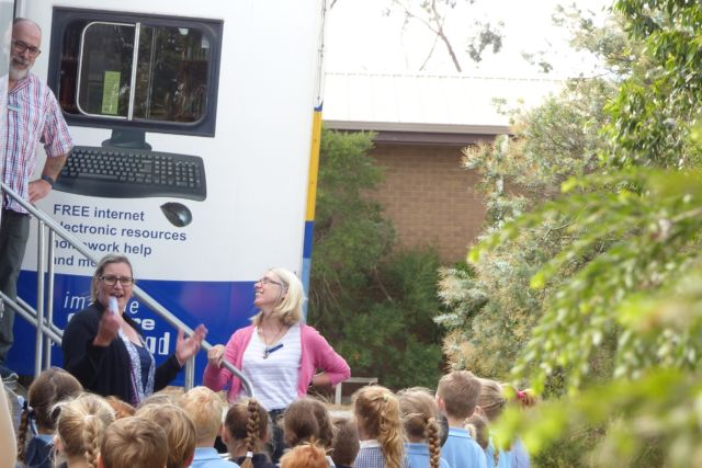 New location for Mobile Library at Gembrook