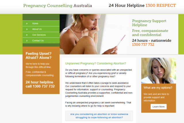 Pregnancy Counselling Australia