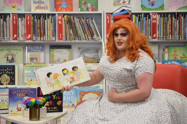 Drag Queen Storytime with Annie