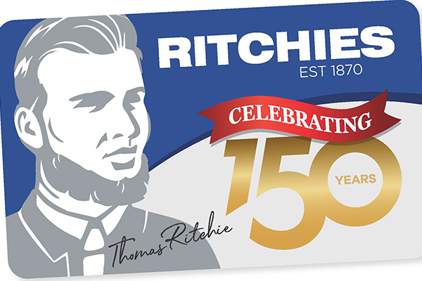 Ritchies Celebrating 150 years