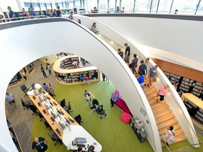 Bunjil Place Library interior